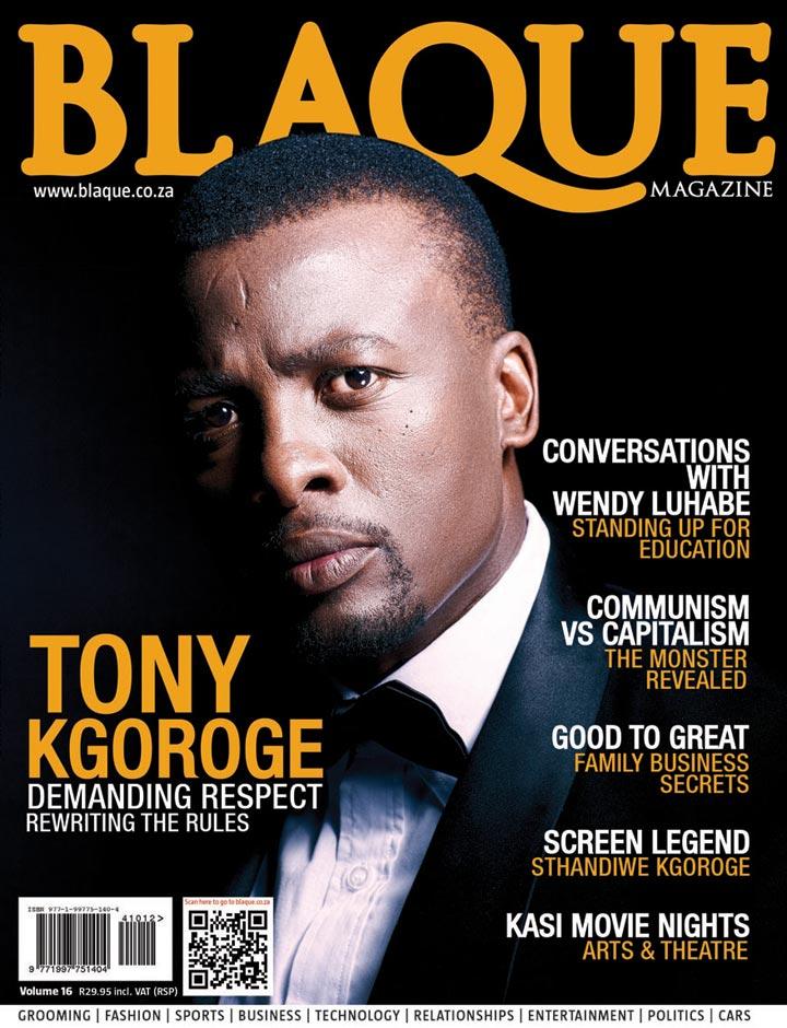 Cover Blacque Magazine